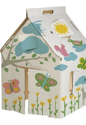 17 meilleures id es propos de cabane en carton sur for Au jardin d enfant
