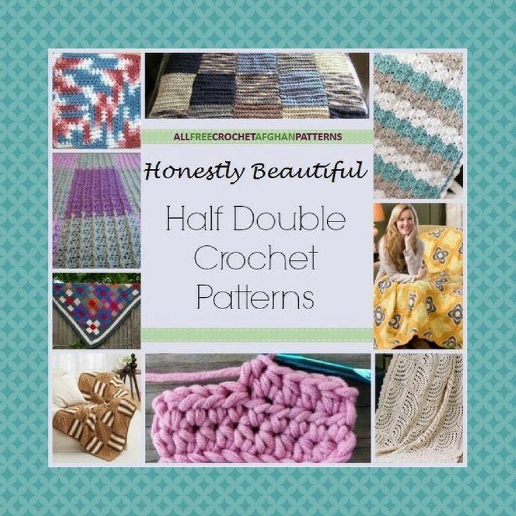 26 Honestly Beautiful Half Double Crochet Patterns | AllFreeCrochetAfghanPatterns.com