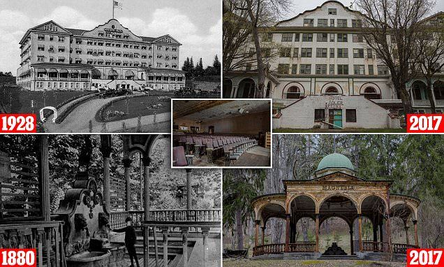 Sharon Springs, New York, used to attract 10,000 visitors to its mineral springs and spas during the mid-1800s. Though it fell into disrepair, it has been making a comeback