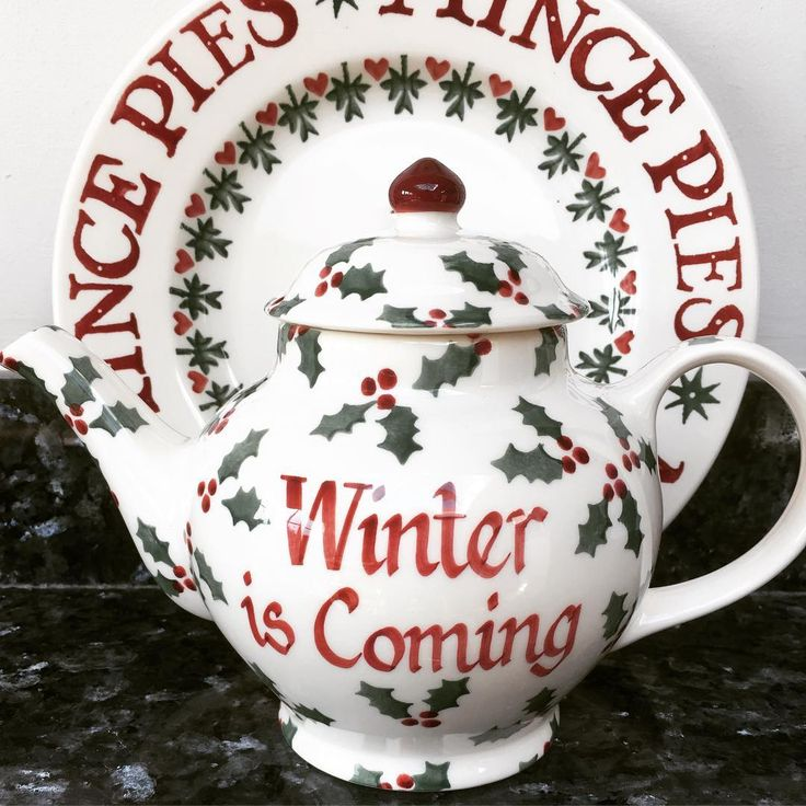 Personalised Little Holly Teapot 2016