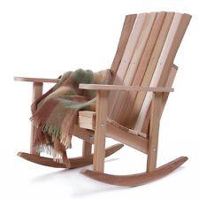 Cedro Vermelho Novo Western Athena Cadeira De Balanço Outdoor Pátio Deck Móveis RC22