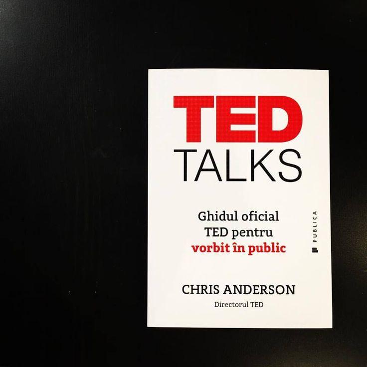 Ghidul oficial TED pentru vorbit în public, de la Chris Anderson, directorul TED!  #editurapublica #romanianedition #tedtalks