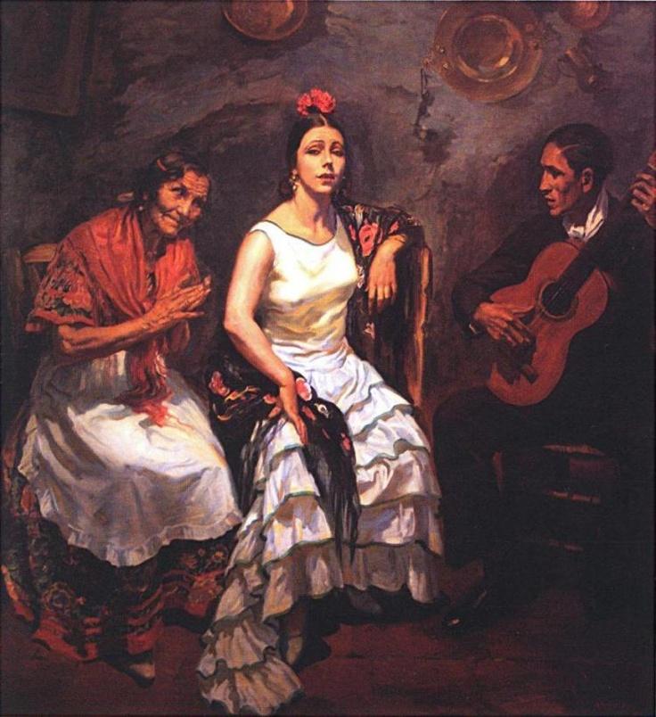 """""""Cante jondo"""" de George Apperley"""