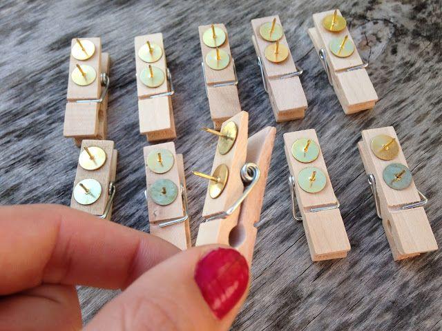 DIY pour tableau en liège / épingler sans trouer DIY : pin for cork board