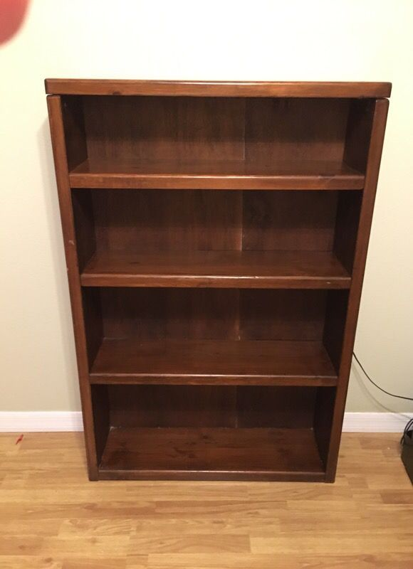 Bookcase 51 Inches High 34 Inches Wide 9 Inch Deep Shelves Made Out Of Wood And A Half Inch Wood 70 Firm For Sale In West Melbourne Fl Bookcase Wood Deep Shelves