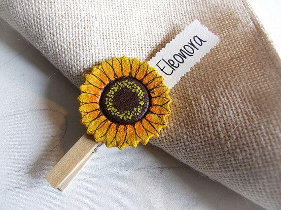 Segnaposto Matrimonio Girasole.Pin Su Sunflowers