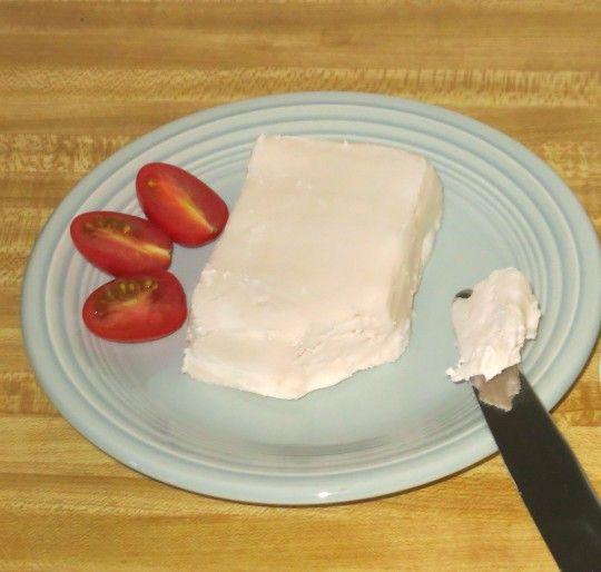 Vegan Cream Cheese! 2/3 cup unsweetened coconut milk, medium to thick. Or a bit more if needed to blend smoothly. 1 teaspoon lemon juice 1 teaspoon apple cide...