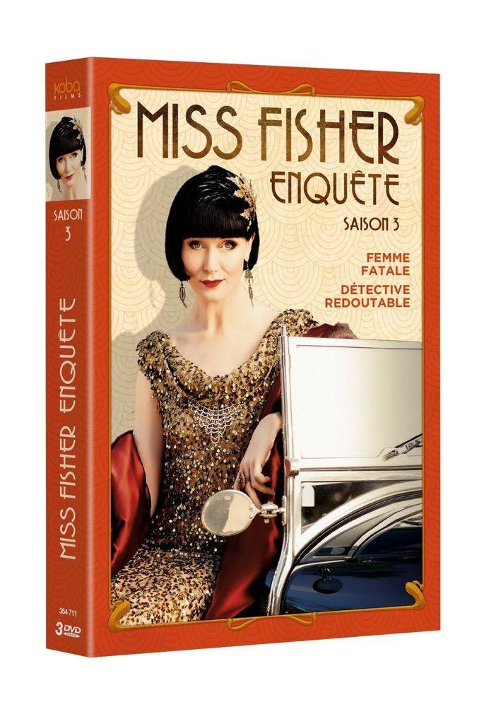 Miss Fisher enquête - Saison 3 (2015) - DVD Miss Fisher s Murder Mysteries