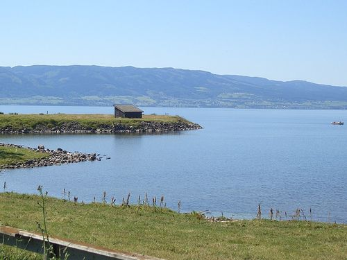 Mjøsa Lake, Hamar, Norway, July 2006 by porteous, via Flickr - P_29.07.2013