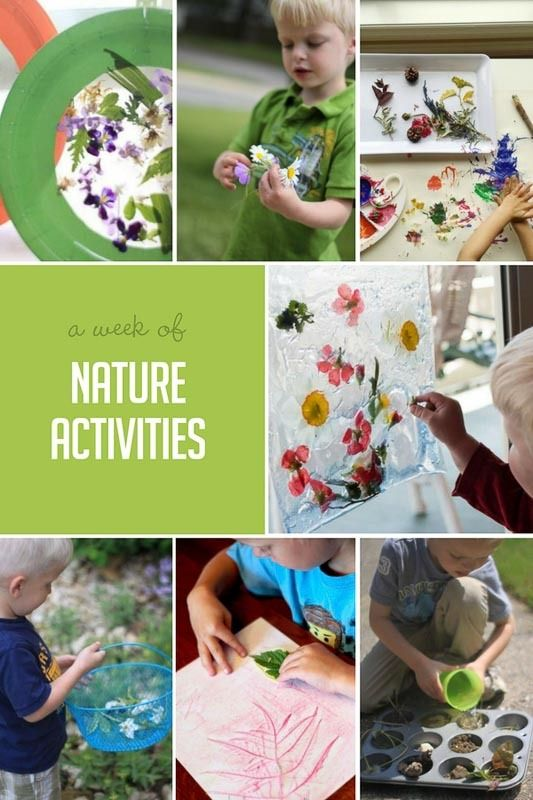 Nature activities and Spring go hand in hand. Spring feels like it's here and I'm ready for it!