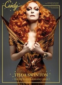 Model: Tilda Swinton  Magazine: Candy #4 Summer 2012  Shoot:Xevi Muntane