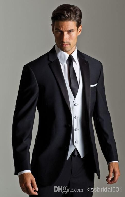 Top 25  best Black suit wedding ideas on Pinterest | Black suit ...