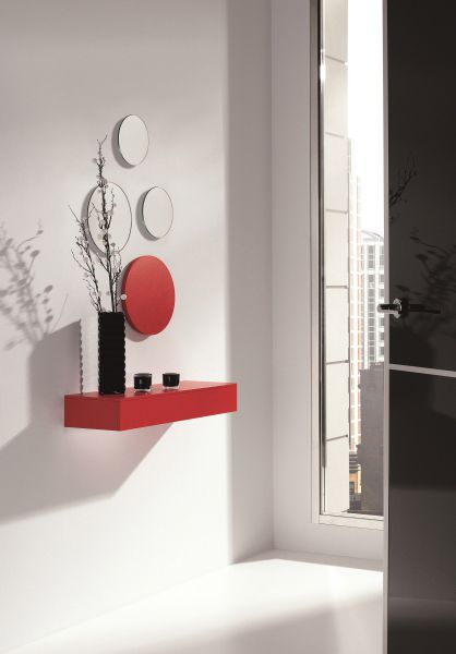 recibidor moderno pelayo ideal para entradas reducidas y con poco espacio