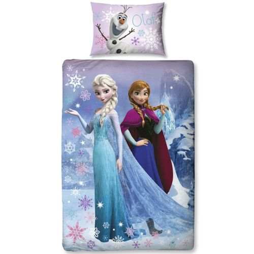 Disney Frost sengetøj - Elsa, Anna & Olaf | Morango.dk