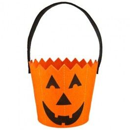 Assorted Halloween Trick Or Treat Buckets Somewhere to store all those tasty treats! :) #poundlandhalloween