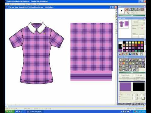 TextPro Design CAD TexPro Is The Name Of Software Fashion Illustration Shoes