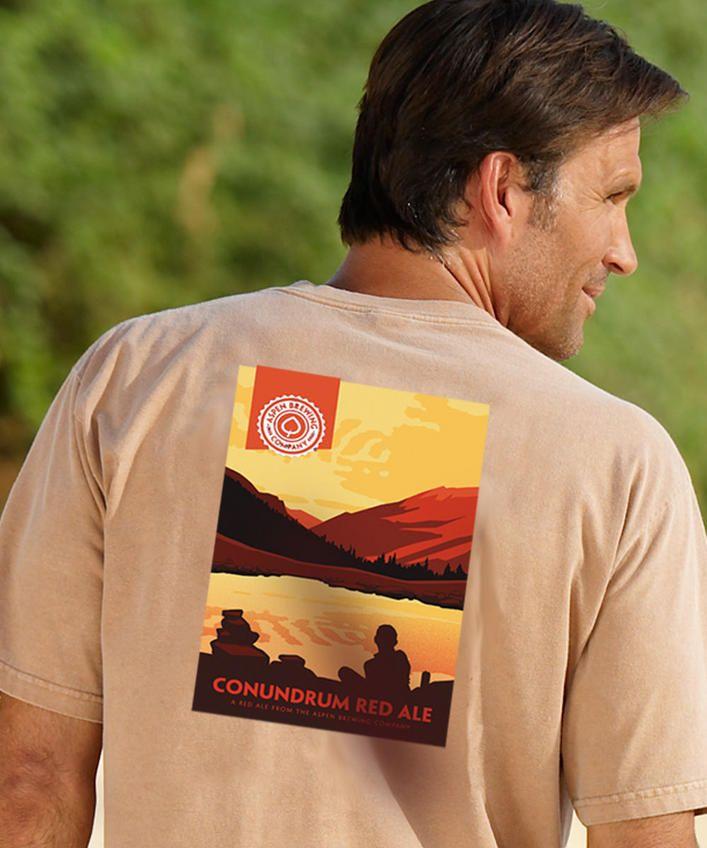 ABC ConundrumRum-Dyed Crew Neck T-Shirt