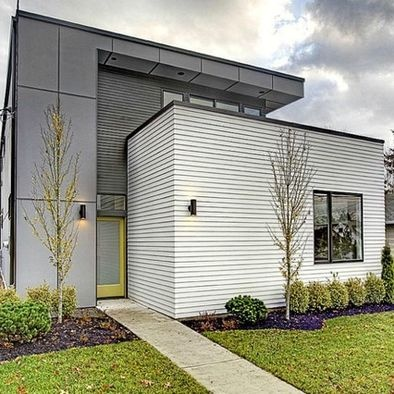 Modern Panel Siding Design, Pictures, Remodel, Decor and Ideas