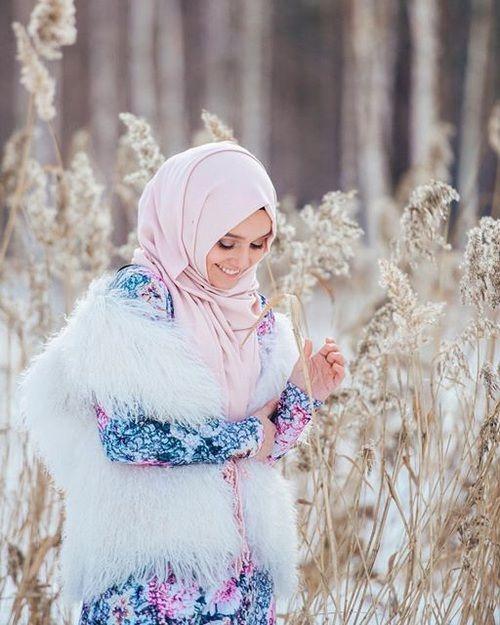 fashion, beautiful, and hijab image