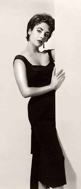 Elizabeth Taylor, 1950's.