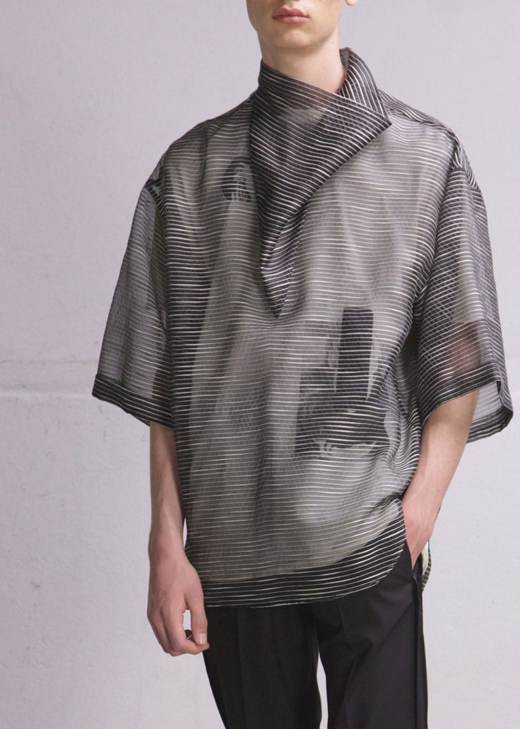 relaxed artsy spaced - Damir Doma S/S 2015 Menswear. @nataraja87 I can see you…