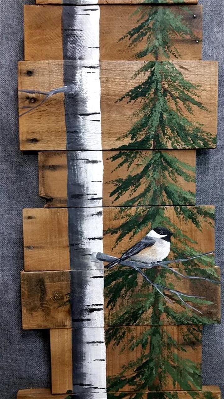 41c4f61fb0d Amazing Pallet Wall Art Bird - Pallets Platform