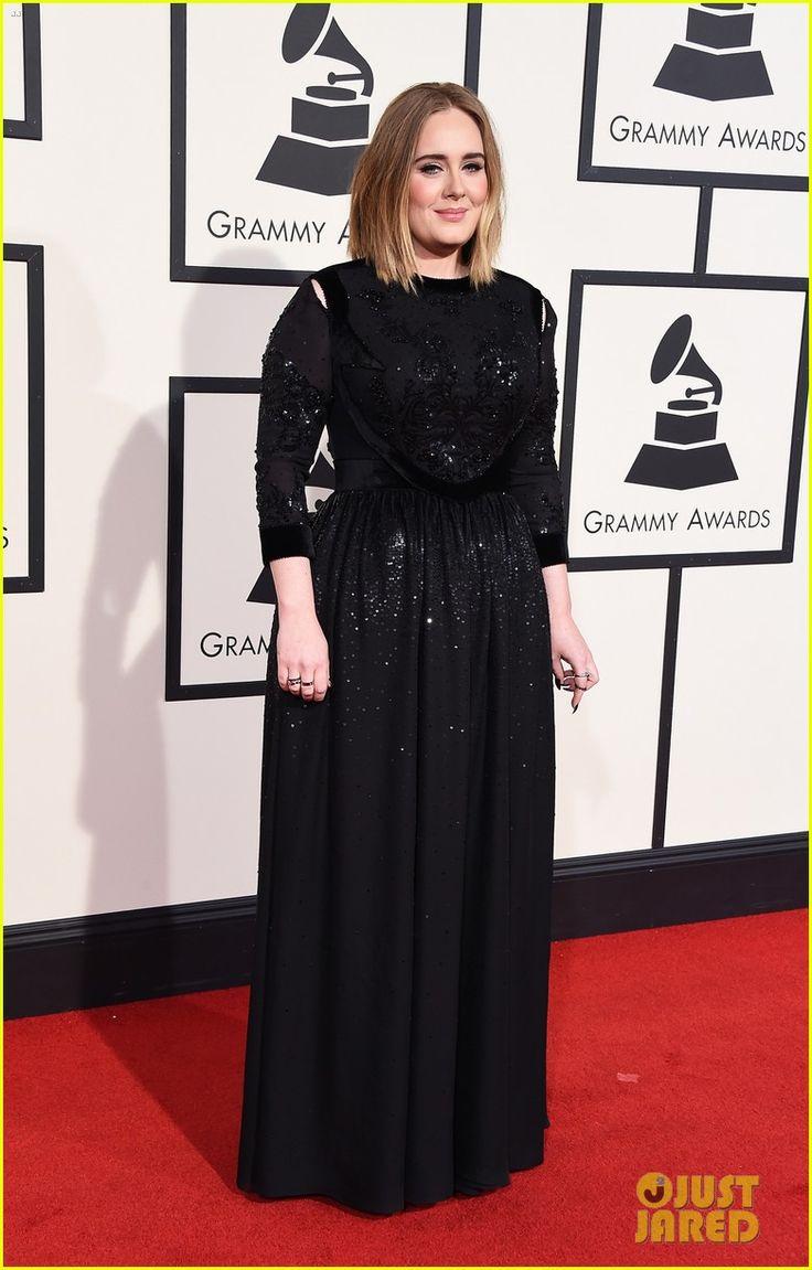 Adele Stuns on Grammys 2016 Red Carpet! | adele grammys red carpet 01 - Photo