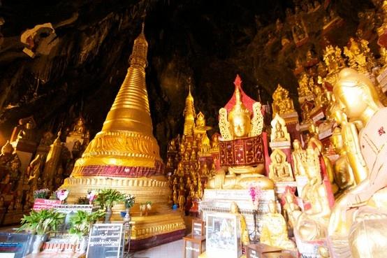 #Myanmar - Pindaya Caves ©EasiaTravel