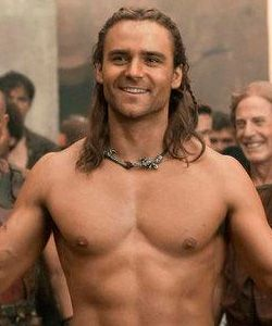 Dustin Clare....thank you Spartacus for all of your sexy men : )