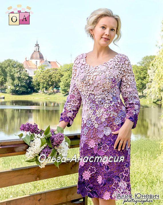 Irische Spitze von Olga-Anastasia Kleid Mai der
