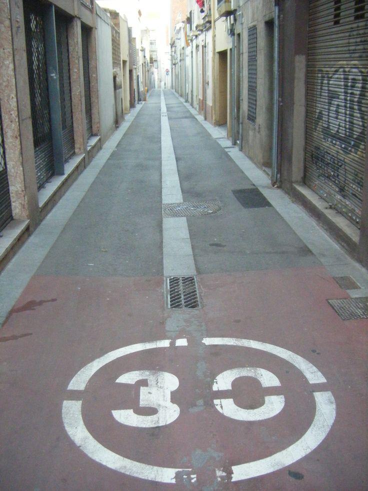 Calle en Sant Andreu, Barcelona