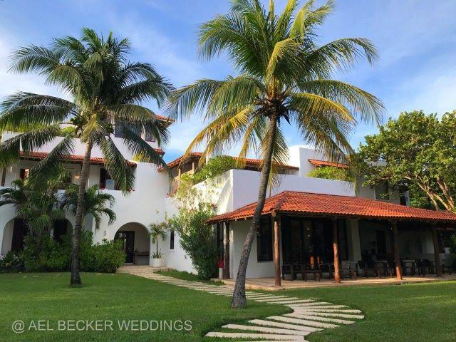 Hotel Esencia, a luxury retreat in Riviera Maya, Mexico by Ael Becker Weddings.