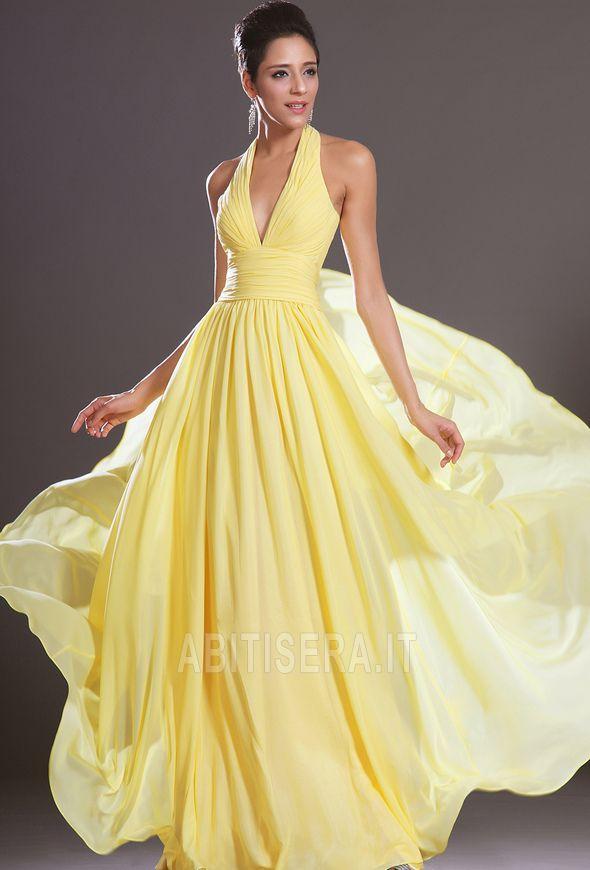 de15dc7a3b72 Vestiti da cerimonia gialli corti ...