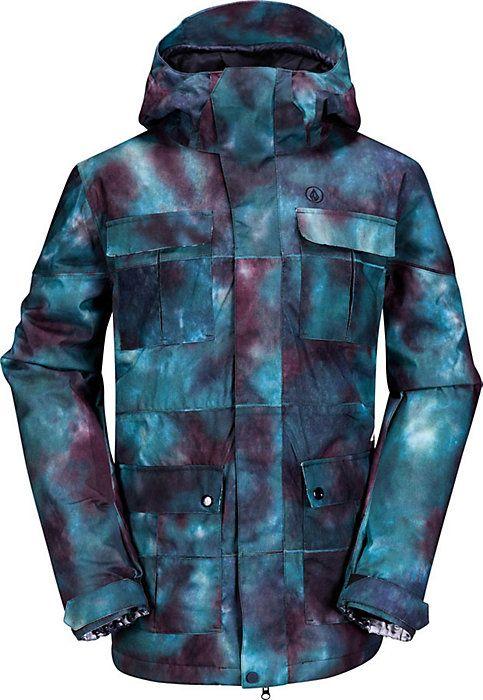 Volcom Captain Insulated Jacket - Men's Snowboarding Jacket - Coat - 2014 - Snowboard - Christy Sports