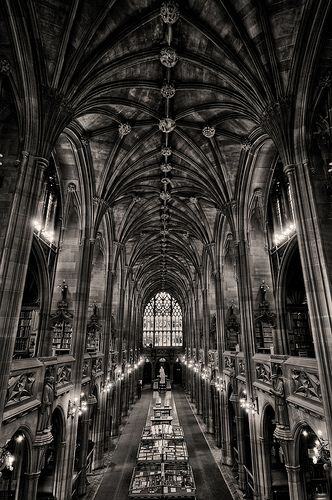 John Rylands Library Manchester UK