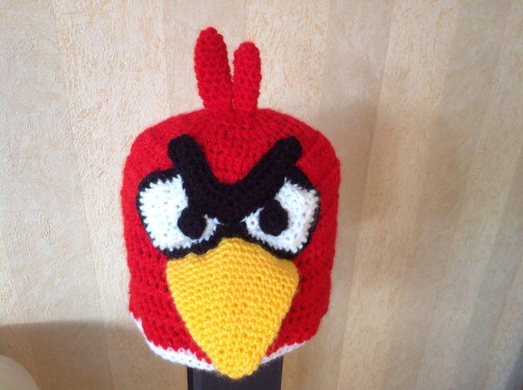Angry bird hat Rowan