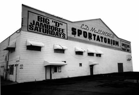 What can I say about this place? Should have been made a historical site and never torn down.   It was the place to go see a very young Willie Nelson, Johnny Cash, Porter Warner and he new young partner named Dolly Patron to some kid named Elvis during the weekly Big D Jamboree.   You also went to go see the wrestling Von Erich family battle the Fabulous Firebirds, Gary Hart, Chris Adams and David Manning.