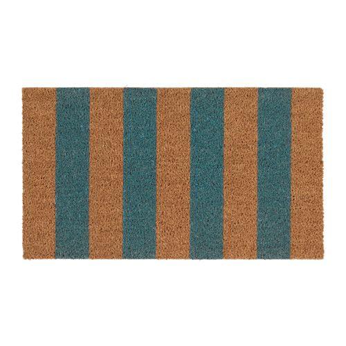 KVORING Door mat IKEA Easy to keep clean - just vacuum or shake the rug.