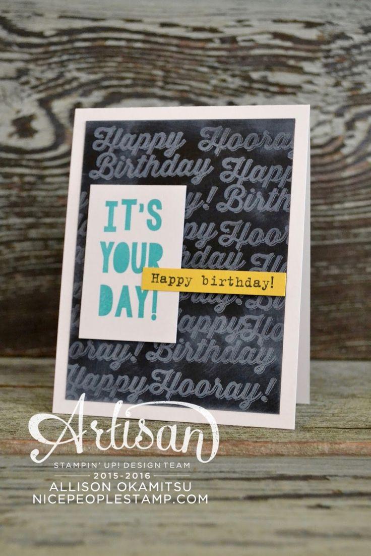 nice people STAMP!: Perfect Pairings Birthday Card