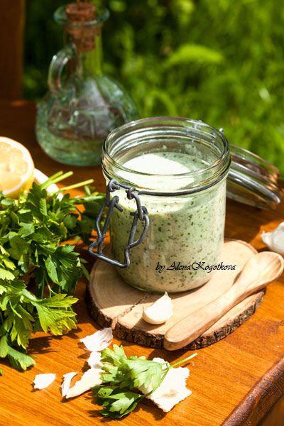 Йогуртовый соус (универсальный, к курице, мясу, рыбе)