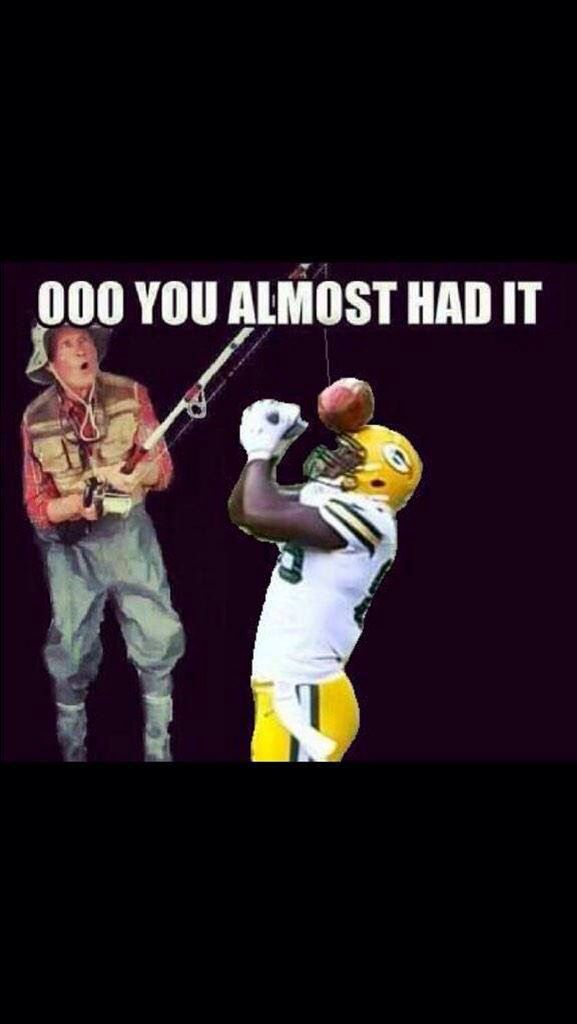 Don't know how to have fun like the packers look at this and try it!