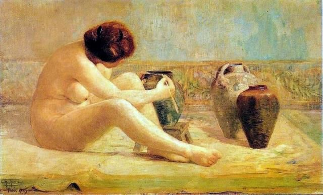Antonio Parreiras – Fantasia – 1909