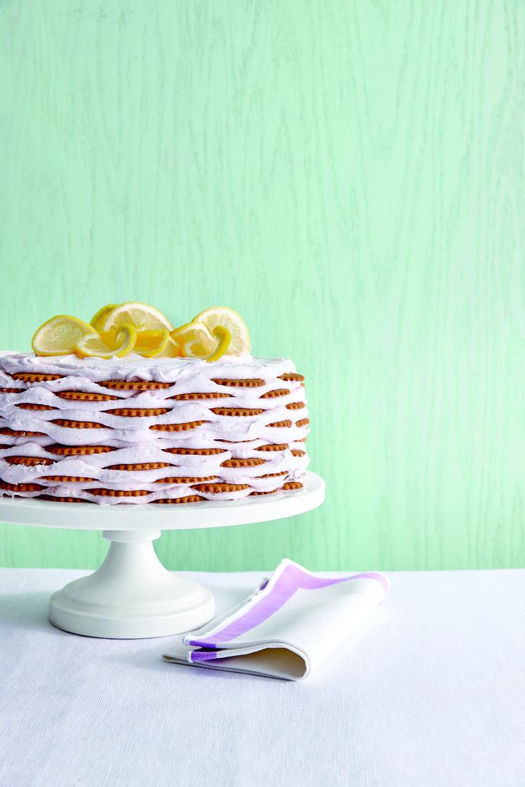 Pink Lemonade Icebox Cake | MyRecipes