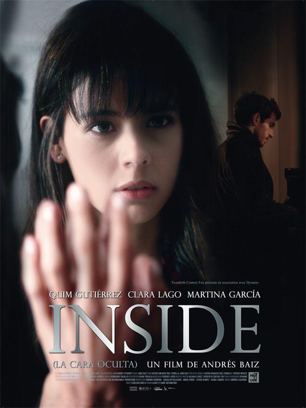 Inside est un film de Andrés Baiz avec Quim Gutiérrez, Martina García. Synopsis : Adrian et sa petite amie Belen sont jeunes et très amoureux. Mais lorsque Bélen commence à douter de la fidélité d'Adrian, elle décide d'éprouver ses