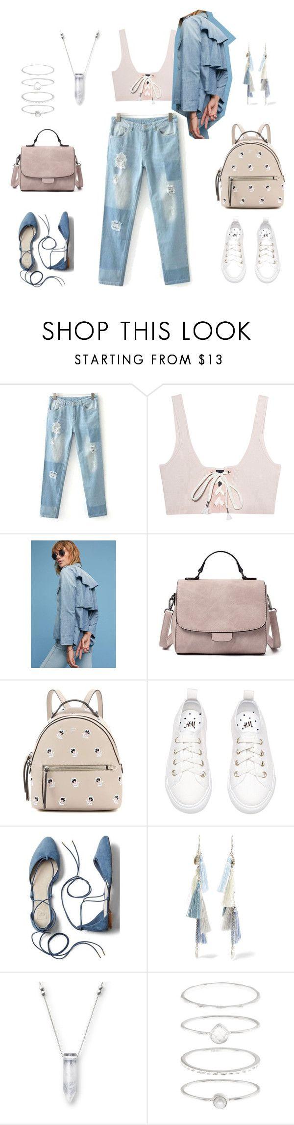 1 by tatiana-saksonova on Polyvore featuring мода, Puma, AMO, Gap, Fendi, Chan Luu and Accessorize