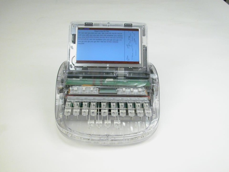Clear Steno Machine!