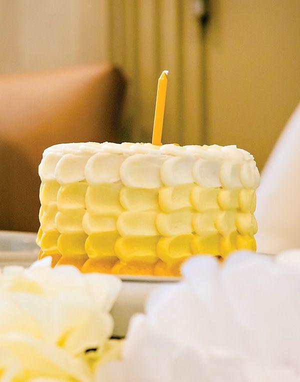 Best 25 Yellow Birthday Cakes Ideas On Pinterest