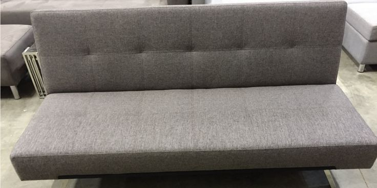 Clark-Click Fabric or Leather Futon  #sofa #sofabed #fabric #leather #futon