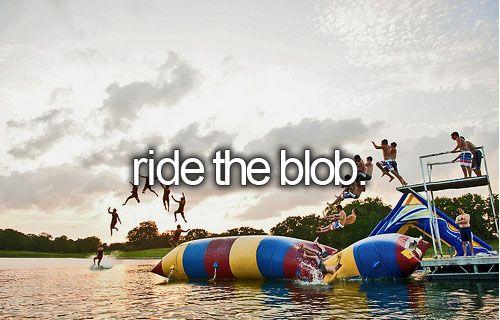 x | ride the blob