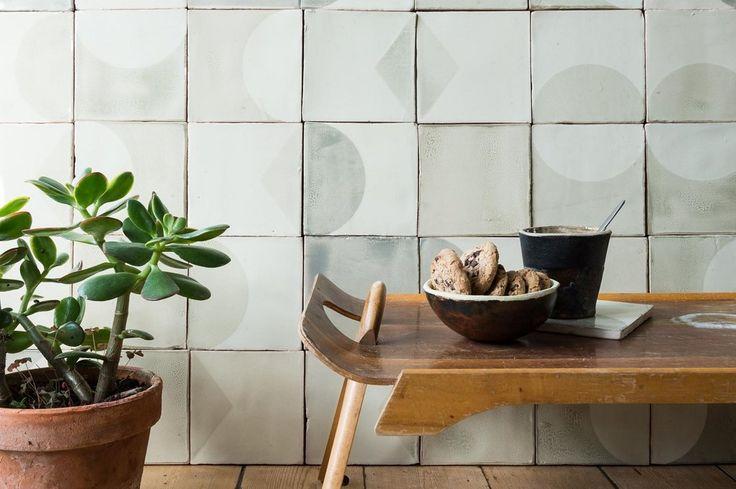 Handgemaakte keramiek tegels door Marianne Smink | By Mölle | slow living
